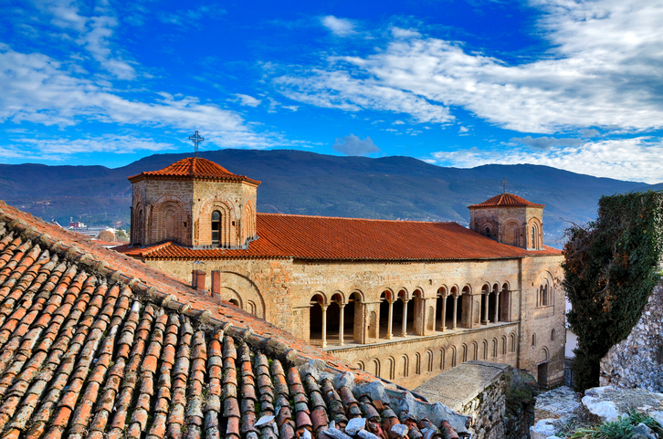St Sophia, Ohrid, Macedonia