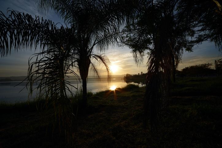 Sunrise on the Pond - Lagoa Santa, Minas Gerais, Brazil