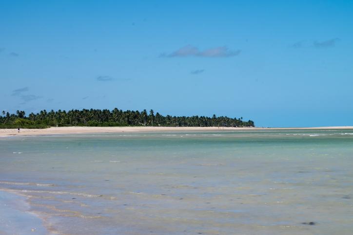 Beach view in Sao Miguel dos Milagres - Alagoas, Brazil