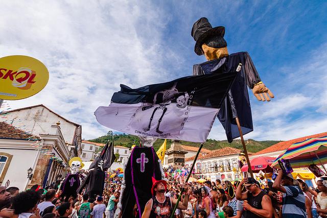 Foto via Divulgação/ Prefeitura de Ouro Preto