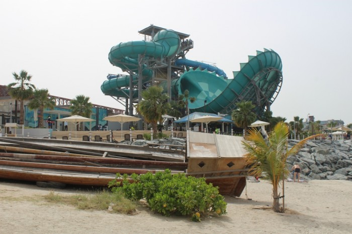 Laguna Waterpark: atração para adultos e crianças em La Mer. Foto por Cláudio Lacerda Oliva