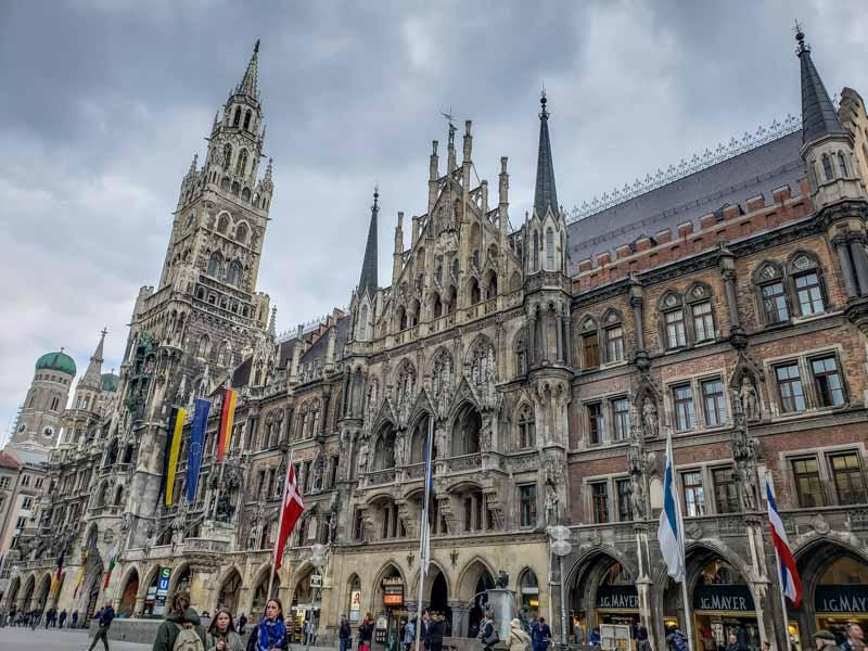 Nova Prefeitura na Marienplatz. Foto: Adriana Lage