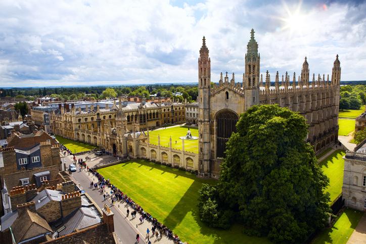 Cambridge University and Kings College Chapel