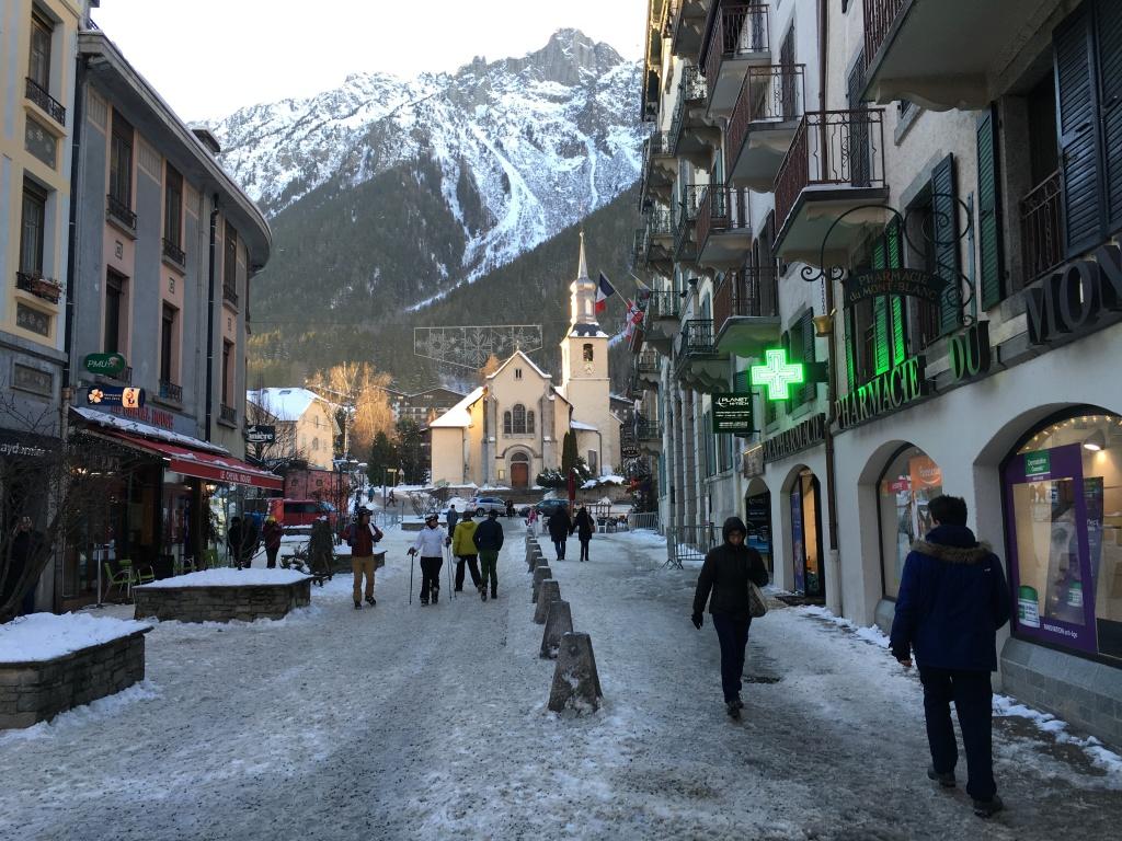 centro de Chamonix Montblanc