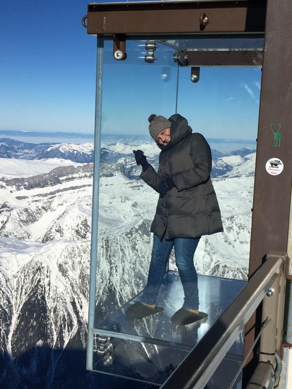 Topo do Mont Blanc