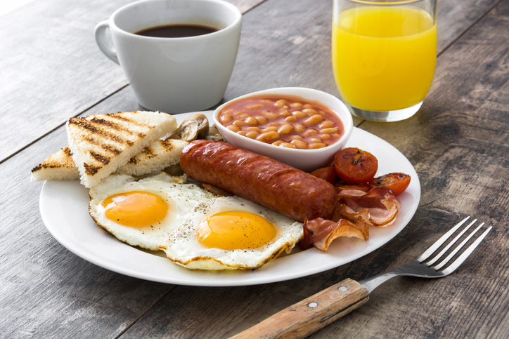 cafés da manhã