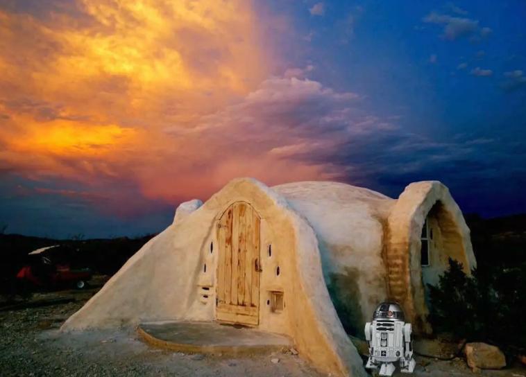 texas-cupula Airbnb