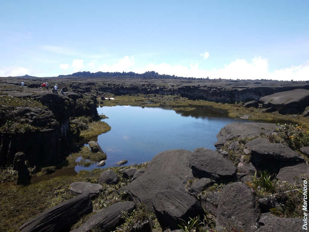 Monte Roraima Lago Gladys