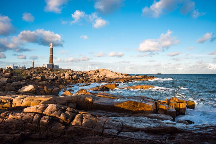 Lighthouse in Cabo Polonio, Rocha, Uruguay
