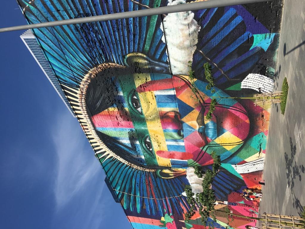 Arte de rua no Porto Maravilha