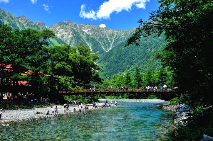 national park 「Kamikouchi」 Nagano Japan