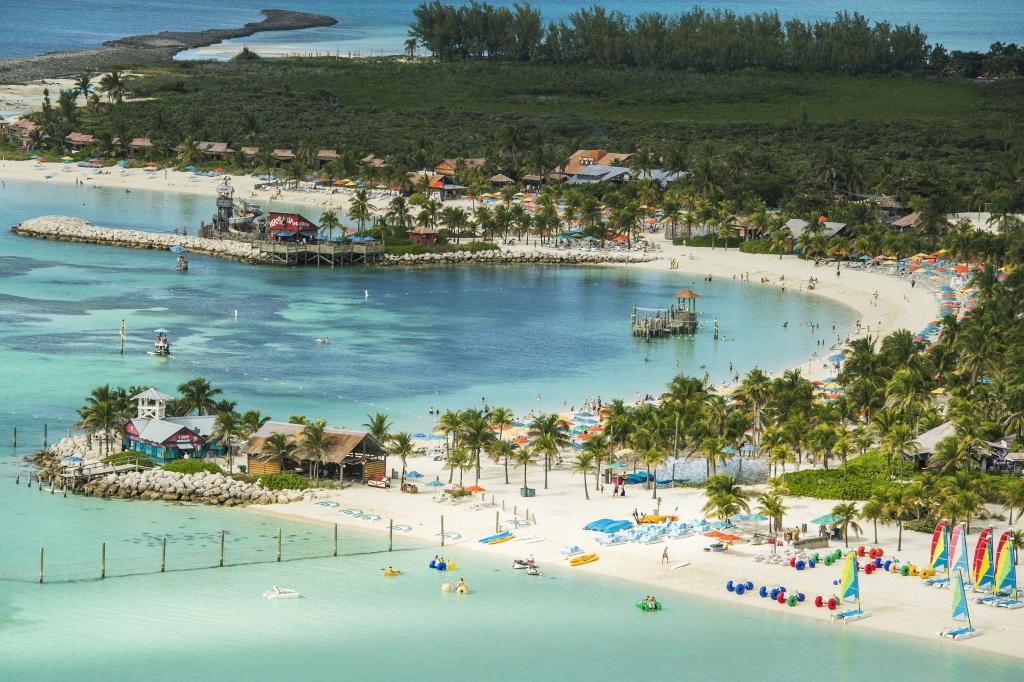 Castaway Cay. Foto por Matt Stroshane, photographer / Disney / Divulgação