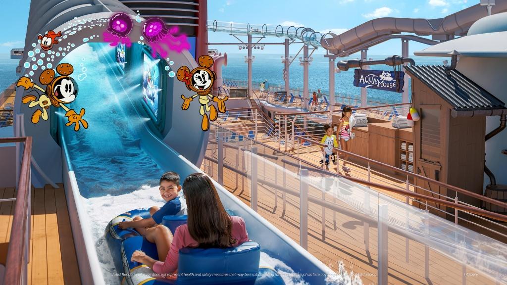 AquaMouse. Foto por Disney / Divulgação
