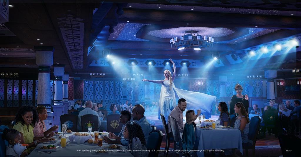 Arendelle: A Frozen Dining Adventure. Foto por Disney / Divulgação