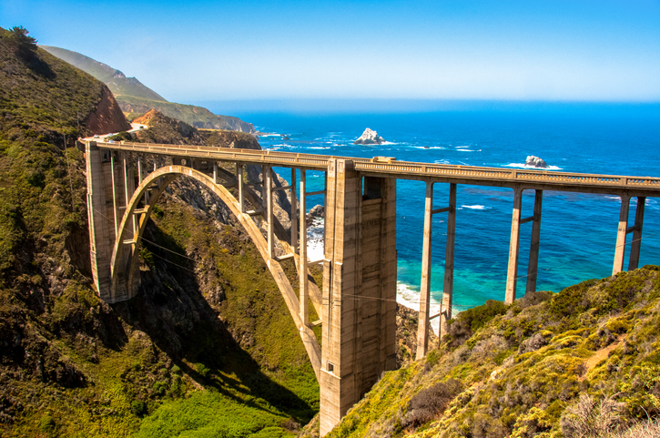 Bixby Bridge, Highway #1 Big Sur, California, USA