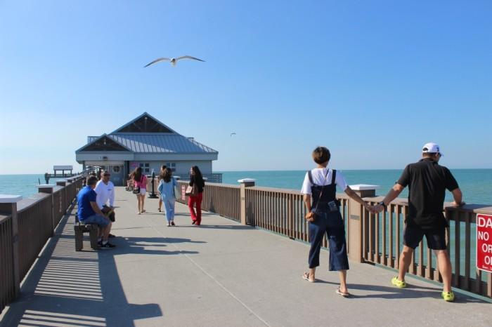 Pier 60 em Clearwater Beach. Foto por Patrícia Chemin
