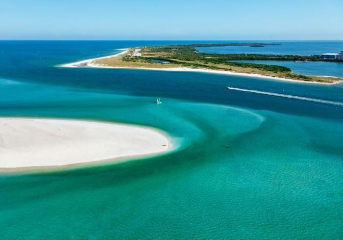 Ilhas de Caladesi e Honeymoon. Foto por Visit St. Petersburg/Clearwater